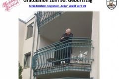 90-Geburtstag Josef Waldl