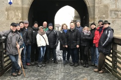 Gruppenbild auf der Altenburg